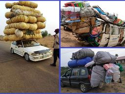 These photos of overloaded vehicles in Nigeria will leave you in shock