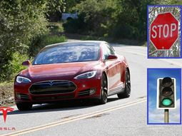 Tesla launches update that makes its Autopilot feature obey stop signs and traffic lights