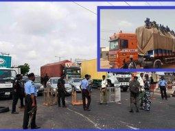 COVID-19: Large trucks transporting passengers into Kaduna state turned back at Kano state border