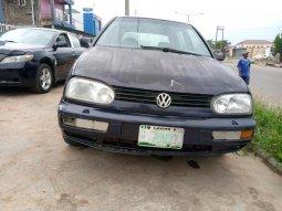 Nigeria Used Volkswagen Golf 1998 Model Blue