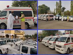 COVID-19: BUA Foundation donates 20 vehicles and 5 ambulances to Kano state government