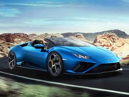 Lamborghini might debut its Huracan Evo RWD Spyder model using augmented reality