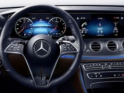 Mercedes-Benz set to debut touch-sensitive steering wheel in coming E-Class