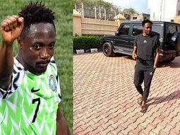 Nigeria's National football team captain, Ahmed Musa shows off his 2019 G-Wagon SUV worth ₦120m