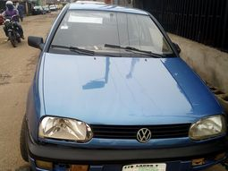 Nigeria Used Volkswagen Golf 3 1990 Model Blue