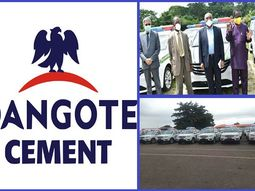 Dangote Cement PLC donates 25 vehicles equipped with security features to Ogun Security Trust Fund