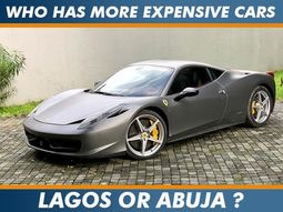 Lagos or Abuja? Which state has the most expensive cars in Nigeria?