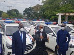 Dangote Cement PLC donates 35 new vehicles to Lagos State Security Trust Fund