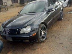 Nigeria Used Mercedes-Benz C240 2006 Model Black