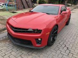 Foreign Used Chevrolet Camaro 2010 Model Red
