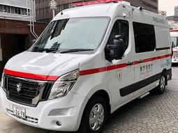 Nissan NV400 sets to become the first electric ambulance in Japan