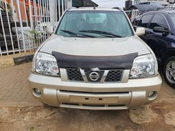 Foreign Used 2007 Gold Nissan X-Trail for sale in Lagos.