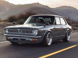 See this custom built 1969 Toyota Corolla powered by a V8 Lexus secret