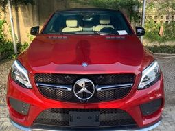 Foreign Used Mercedes-Benz GLE 2019 Model Red