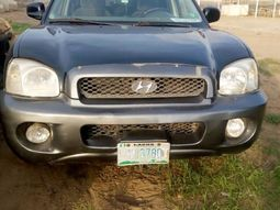 Locally Used 2002 Hyundai Sonata for sale in Lagos.
