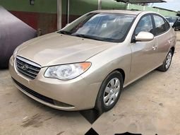 Foreign Used Hyundai Elantra 2008 Model Gold