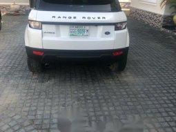 Nigeria Used Land Rover Range Rover Evoque 2014 Model White