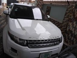 Nigeria Used Land Rover Range Rover Evoque 2015 Model White
