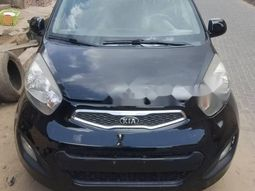 Nigeria Used Kia Picanto 2014 Model Black