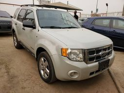Foreign Used Ford Escape 2008 Model White