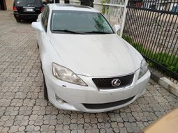 Foreign Used Lexus IS 2006 Model White