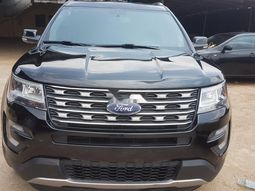 Foreign Used Ford Explorer 2017 Model Black