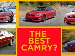 Evolution of the Toyota Camry: Which generation is the best Toyota Camry to buy?