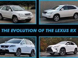 Evolution of the Lexus RX Crossover: Which is the best?