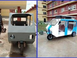 See this solar-powered Keke Napep built by UNIZIK graduate in just 21 days