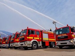 10 controversial ₦1.8 billion firefighter trucks commissioned by Interior Minister
