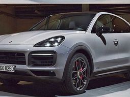 Official photos of the 2021 Porsche Cayenne Coupe GTS leaks ahead of debut