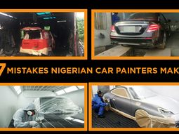 Car painting: 7 mistakes car painters make in Nigeria