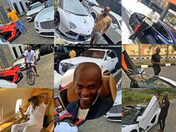 Jowi Zaza' cars and jets: Can you find one who loves color white more than him?