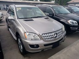 Foreign used 2008 Mercedes Benz Ml350