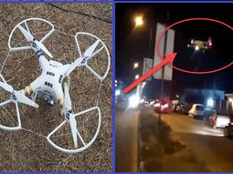 [Photos & Video] Moment Lagos RRS used a drone to disperse curfew violators