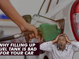 4 reasons why filling your fuel tank is very bad for your car's health