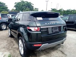 foreign used range rover evoque