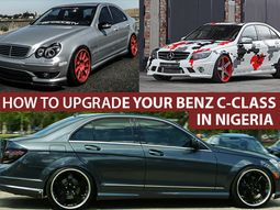 How to Upgrade Mercedes-Benz C-Class in Nigeria the right way [A complete guide]
