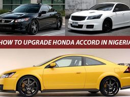 How to Upgrade Honda Accord in Nigeria the right way. A complete guide.