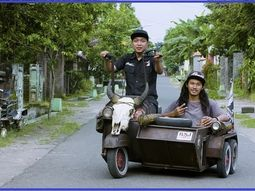 Check out these Vespa bikes modified into wild cars by talented Indonesians