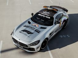 Check out the beautiful new Mercedes-AMG GT R F1 safety car