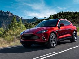 First-ever Aston Martin DBX SUV finally rolls off the assembly line