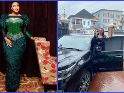 Mimi Orjiekwe hangs out with new Lexus SUV on 33rd birthday