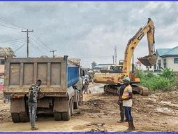 Ogun state Gov. kickstarts repair of Panseke-Adigbe road & drainages