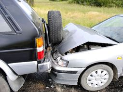 How the Crumple zone protects you and your legs in an accident