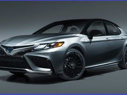 Check out the newly revealed 2021 Toyota Camry sedan with Safety Sense 2.5