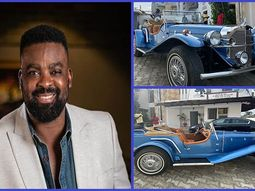 Popular Nigerian actor Kunle Afolayan buys 1929 Mercedes-Benz Gazelle