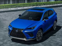 Check out the newly unveiled 2021 Lexus NX 300h F Sport crossover