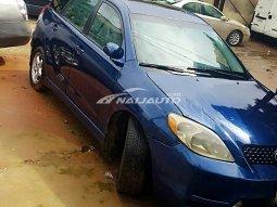 Blue Toyota Matrix - Nigerian Used