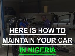 How much it costs to maintain a car in Nigeria?